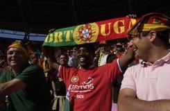 Ventilatore del Portogallo all'EURO 2008 Immagini Stock Libere da Diritti
