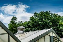 Ventilatore dell'aria sul tetto immagine stock libera da diritti