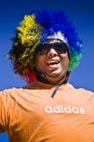 Ventilatore di calcio - WC 2010 della FIFA immagine stock libera da diritti