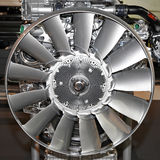 Ventilatore di motore fotografie stock libere da diritti