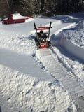 Ventilatore di neve Immagini Stock