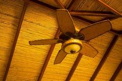 Ventilatore di soffitto fotografia stock