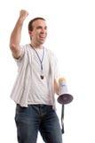 Ventilatore di sport Fotografie Stock Libere da Diritti
