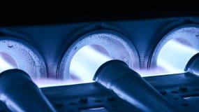 Ventilatore domestico del bruciatore della fornace bruciato Fotografia Stock Libera da Diritti