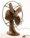 Ventilatore elettrico dell'annata fotografia stock
