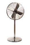 Ventilatore elettrico isolato fotografia stock
