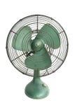 Ventilatore elettrico verde immagine stock