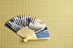 Ventilatore giapponese Fotografie Stock Libere da Diritti
