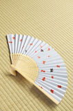 Ventilatore giapponese Fotografia Stock