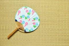 Ventilatore giapponese - uchiwa- Immagine Stock