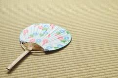 Ventilatore giapponese - uchiwa- Fotografia Stock