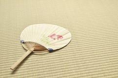 Ventilatore giapponese - uchiwa- Immagini Stock Libere da Diritti