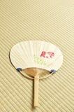 Ventilatore giapponese - uchiwa- Immagini Stock