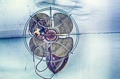 Ventilatore a muro antico Fotografia Stock Libera da Diritti