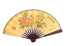 Ventilatore piegante cinese fotografia stock