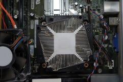 Ventilatore polveroso del calcolatore immagini stock libere da diritti