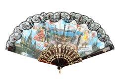 Ventilatore spagnolo fotografie stock