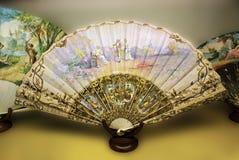 Ventilatore spagnolo della mano Fotografie Stock