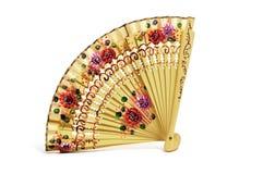 Ventilatore spagnolo della mano immagine stock
