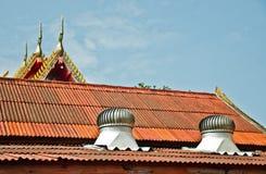Ventilatore sul tetto Fotografie Stock Libere da Diritti
