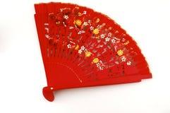 Ventilatore tradizionale di flamenco Immagini Stock Libere da Diritti