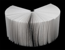 ventilatoren låter vara paper white Royaltyfri Fotografi