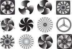 Ventilatori Fotografia Stock