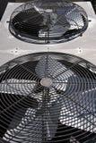 Ventilatori del condensatore fotografia stock