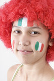 Ventilatori dell'Italia Fotografia Stock