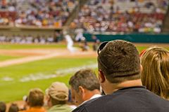 Ventilatori di baseball Immagini Stock