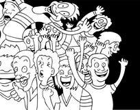 Ventilatori Fanatical royalty illustrazione gratis