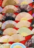 Ventilatori giapponesi Fotografie Stock