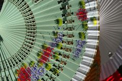 Ventilatori spagnoli Fotografie Stock