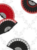 Ventilatori spagnoli royalty illustrazione gratis