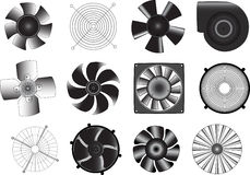Ventilators Royalty Free Stock Photos