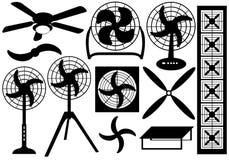 Ventilators Vektor Illustrationer