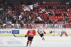 Ventilators bij de steun het team Royalty-vrije Stock Fotografie