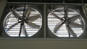 Ventilators. Electrical fan motor propeller royalty free stock photography