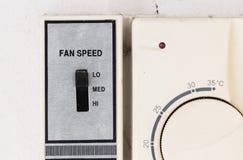 Ventilatorsnelheid Royalty-vrije Stock Foto's