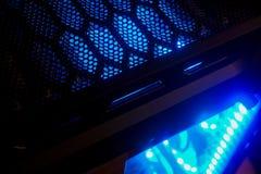 Ventilazione del favo per l'unità del PC fotografie stock