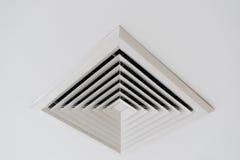 Ventilazione del soffitto dello stato dell'aria Fotografia Stock