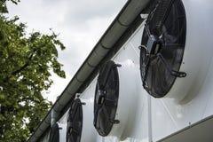 Ventilazione della ventola di raffreddamento Immagine Stock Libera da Diritti