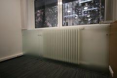 ventiler för rör för uppvärmningssystem arkivbilder