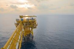 Ventilhandbuch für Offshoreindustrieöl und -gas lizenzfreie stockfotografie