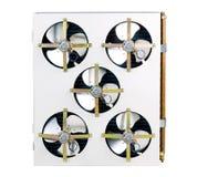 Ventili l'unità di condensazione Fotografie Stock Libere da Diritti