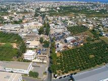 Ventili la fotografia, la città di Chania, Creta, Grecia Fotografie Stock Libere da Diritti