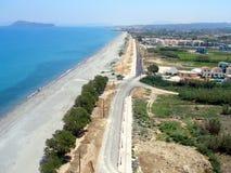 Ventili la fotografia, la spiaggia di Gerani, Chania, Creta, Grecia Fotografia Stock