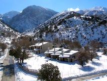 Ventili la fotografia, Omalos, Lefka Ori, Chania, Creta, Grecia Immagini Stock