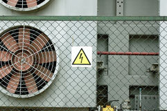 Ventillation photo. Photo of vent on electrical equipment royalty free stock photo