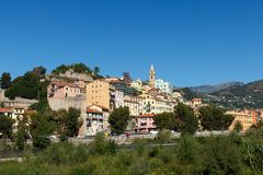 Ventimiglia, Ιταλία Στοκ φωτογραφία με δικαίωμα ελεύθερης χρήσης